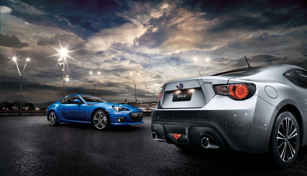 The Subaru BRZ.