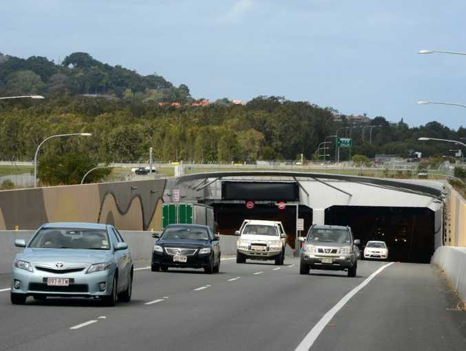 Motorists encountered a two-hour traffic jam after an overheight truck closed the Tugun Bypass tunnel.