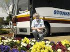 Stonestreets bus tours prove very popular during Carnival of Flowers. Stonestreets coaches marketing manager and tour co-ordinator Rob Brown believes if the crowds continue to roll into town record numbers of people will visit Toowoomba for the carnival. Photo: Bev Lacey / The Chronicle