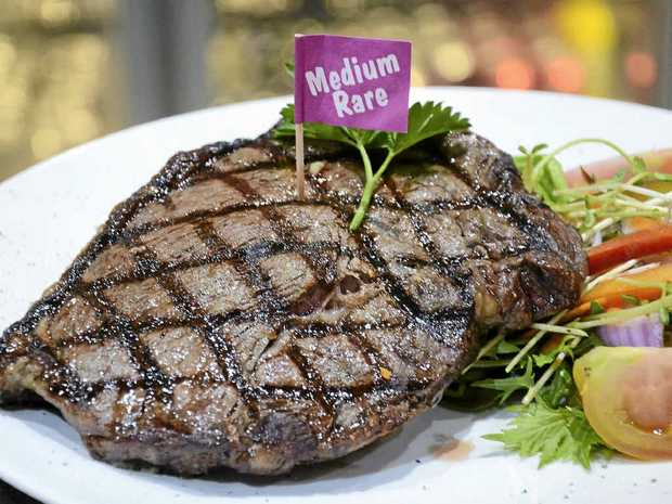 IN MODERATION: Australians on average eat too much red meat.