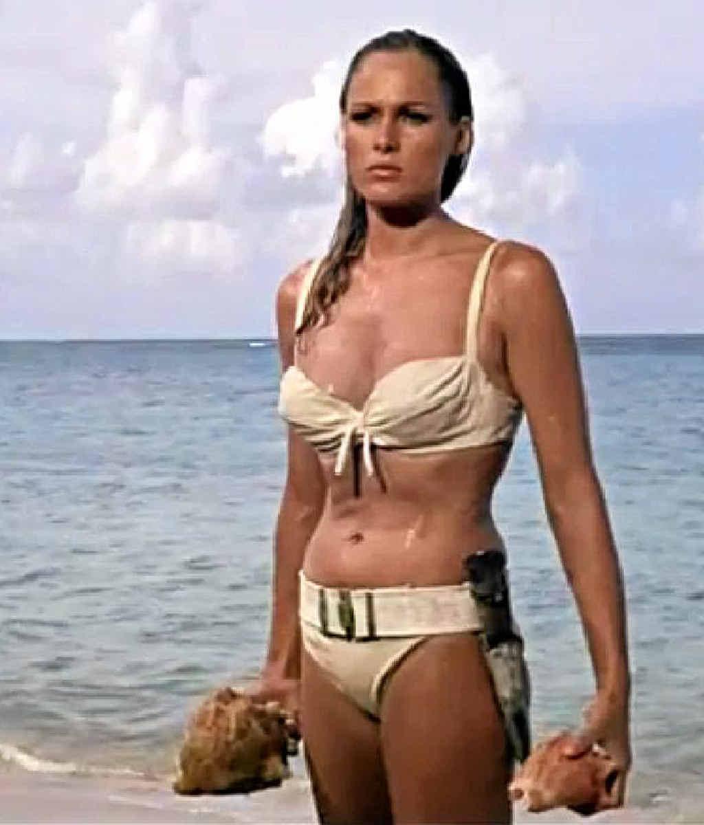 We can't all look like Ursula Andress in a bikini.