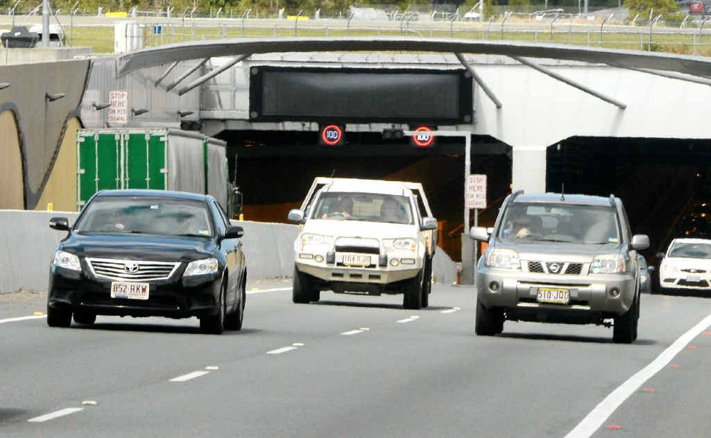 A major traffic jam occurred on Monday when an over-height truck forced the closure of the Tugun bypass tunnel.