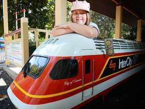 Mini-railway a school holiday star