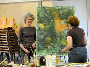 Budding artists brush up on skills