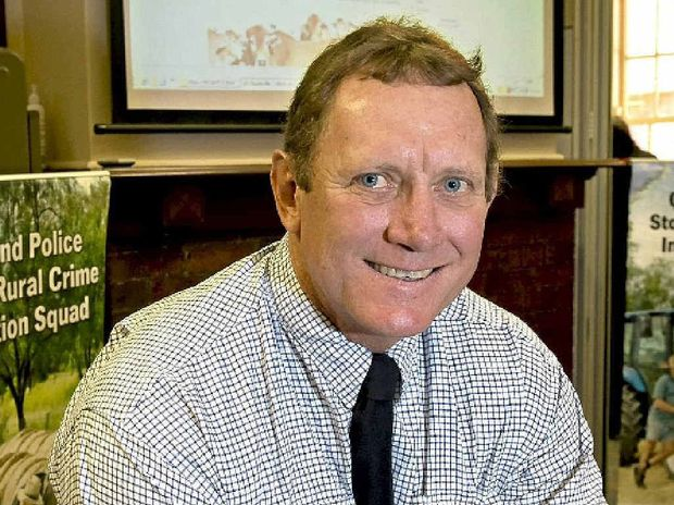 IN TOUCH: Detective Inspector Ian Robertson hopes the Stock and Rural Crime Investigation Squad myPolice blog will connect with the community.