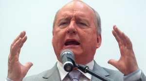 Alan Jones is no longer welcome at a Murwillumbah rally.