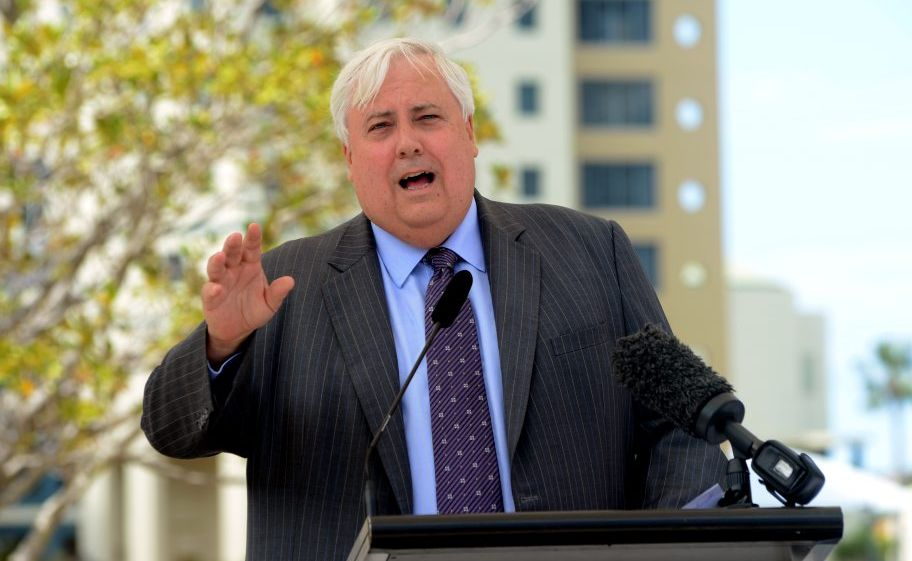 CLIVE Palmer says Australians needed leaders with proven track records and excellent decision making qualities.