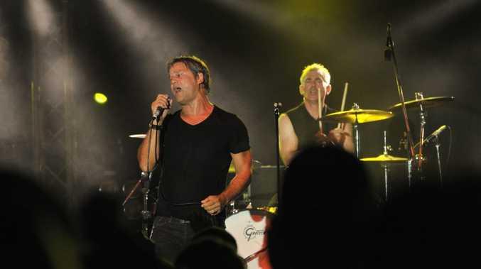 Sunday evening at the Caloundra Music Festival 2012: Noiseworks. Photo: Brett Wortman / Sunshine Coast Daily