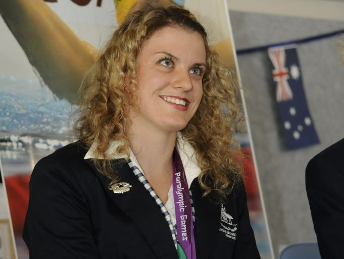 Jacqueline Freney has been named Young Australian of the Year.