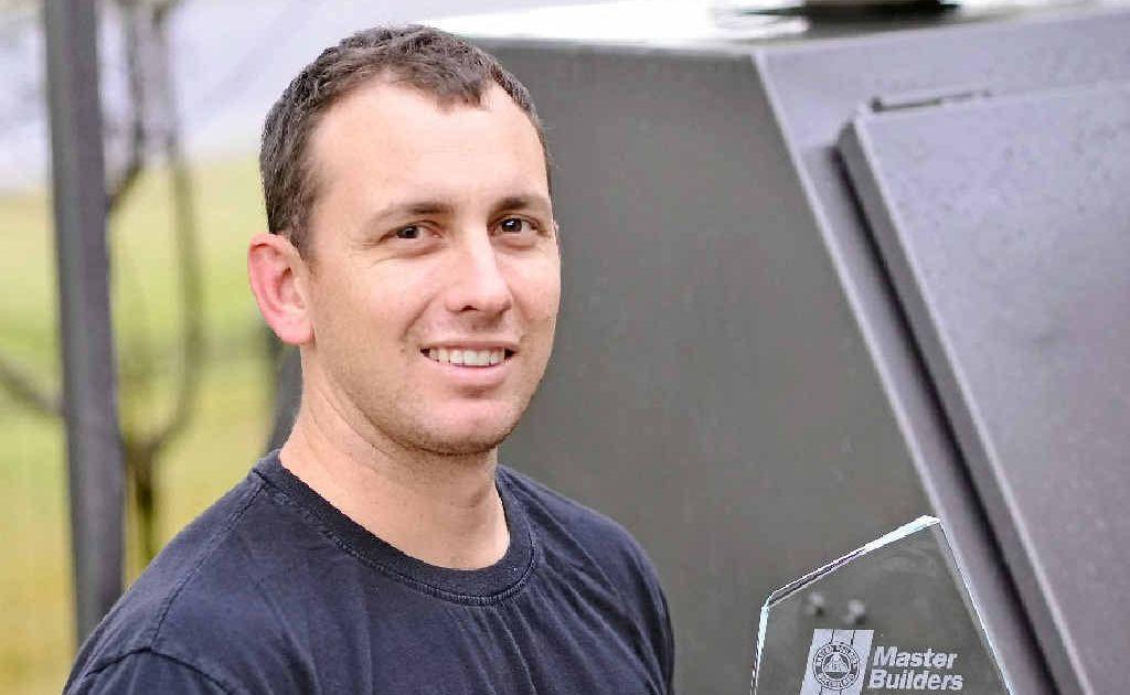 Matthew Hall is Queensland's Apprentice of the year.