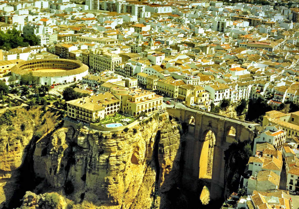 The breathtaking city of Ronda in southern Spain.