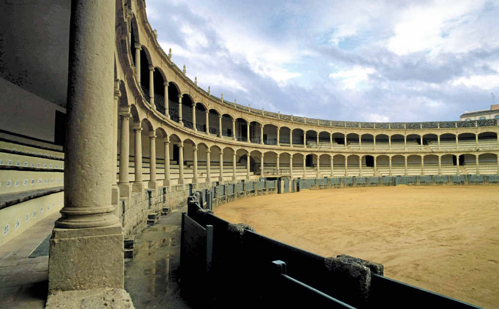 Plaza de Toros bullring, Ronda's second most-photographed icon.
