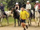 Ultra-marathoner Richard Bowles on the Bicentennial National Trail.