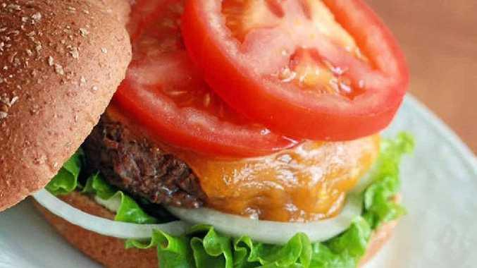 Tasty burger patties