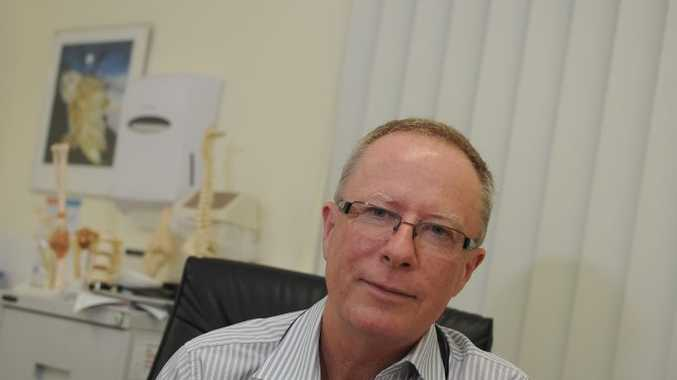 PROFESSIONAL ASSESSMENT: Australian Medical Association representative for the Fraser Coast, Dr Shaun Rudd, says the closure of Howard Medical Clinic highlights problems the region is facing. Photo: Robyne Cuerel / Fraser Coast Chronicle