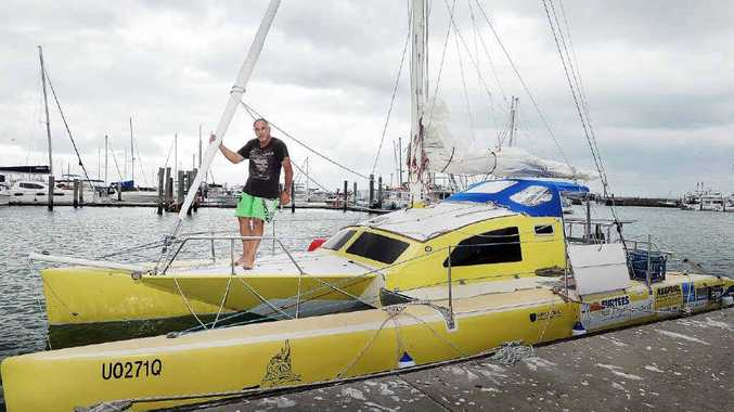 Len Surtees aims to be the oldest person in the smallest boat to solo circumnavigate Australia.