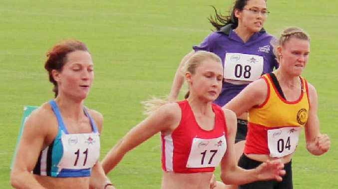 Hayley Heel (No.17) is making an impact in athletics.