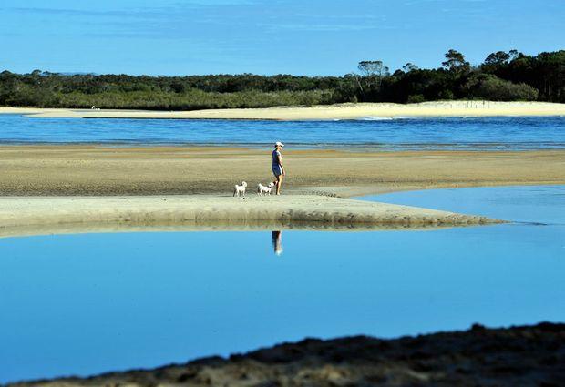 Noosa beach on the beautiful Sunshine Coast.