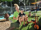 Childcare worker Sarah Watson with her two-year-old son Kai. Photo: Brett Wortman / Sunshine Coast Daily