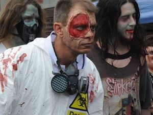 Zombie walk infection spreads to Gladstone streets