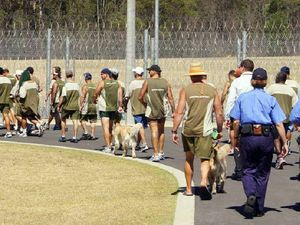 Inmates go walkabout