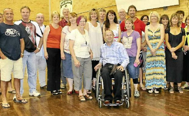 HAPPY REUNION: The class of 1982 from Kadina High School's first Year 7 intake enjoyed a get-together at the weekend.