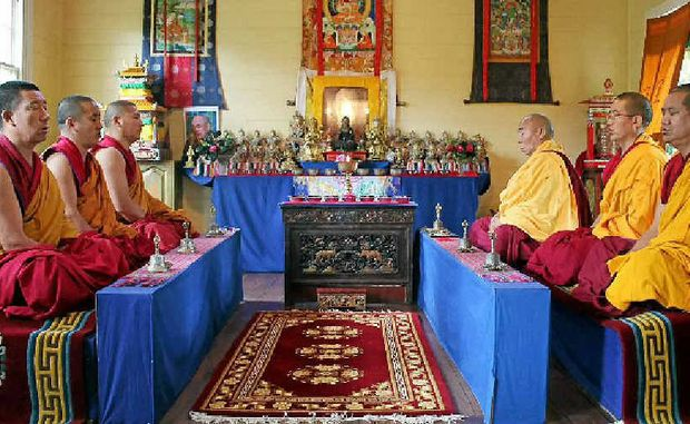 PURE SOUND: The Gyoto Monks of Tibet are coming to the Star Court Theatre on Sunday.