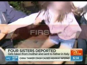 AFP remove girls