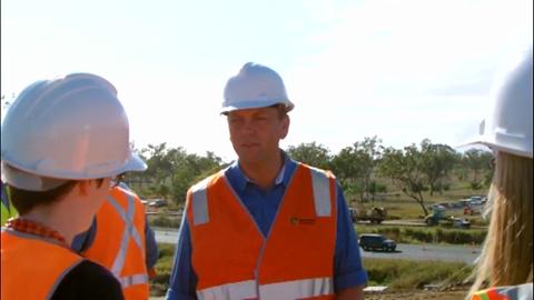 Transport and Main Roads Minister Scott Emerson in Gracemere in October, 2012.
