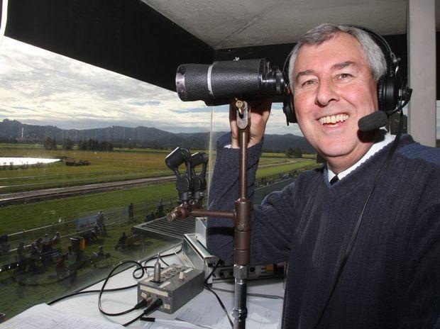 Race caller Rod Fuller.