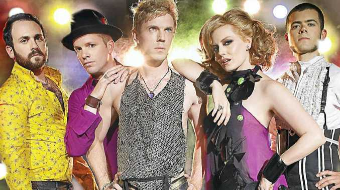 TOURING PROFESSIONALS: The US band the Scissor Sisters are not the normal rock band.