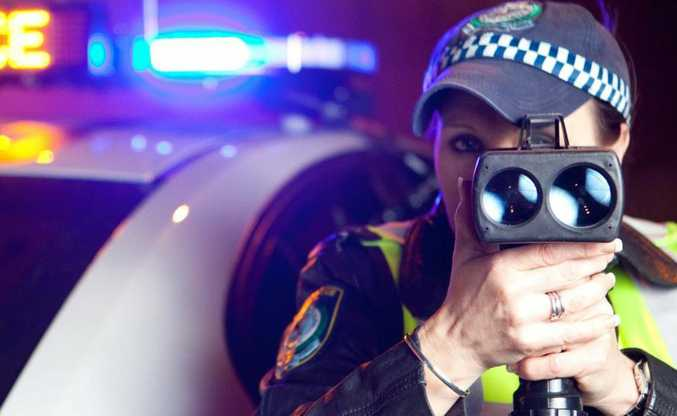 A driver was clocked at 165km/h in Gold Coast hinterland