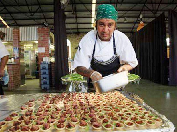 SHARING HIS BEST: Australia's Indigenous chef Clayton Donovan.