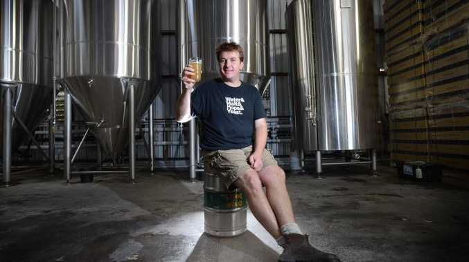 Stone and Wood Brewery Co-Owner Brad Rogers pictured at The Stone and Wood Brewery, Byron Bay. Photo Patrick Gorbunovs / The Northern Star