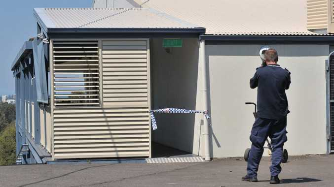 Scene of an armed hold-up at the Headland Golf Club at Mountain Creek. Photo: Brett Wortman / Sunshine Coast Daily