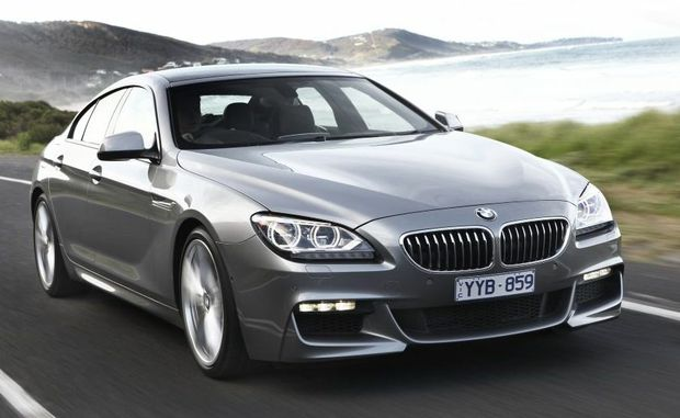 The BMW Gran Coupe.