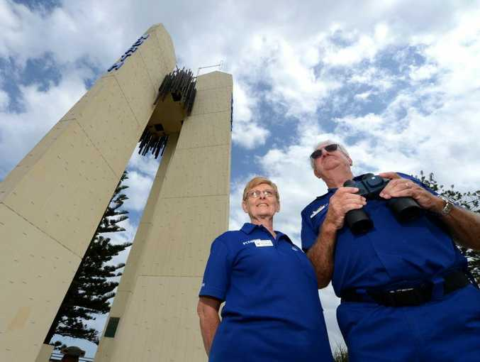 Point Danger Marine Rescue volunteers Betty and Don Malligan are looking forward to an upgrade of the lighthouse.