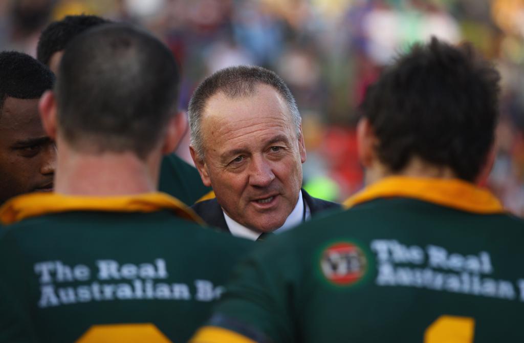 Kangaroos coach Tim Sheens.