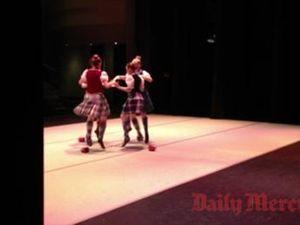 Highland dancers kick off Eisteddfod