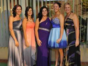 Staff dress to impress at gala