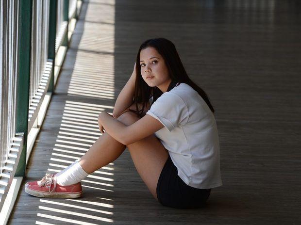 Richmond River High student Serinna Mcgrath, 15 reflects on her friend Rhys Holland.