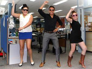 Gangnam Style rocks Rocky