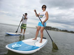 Enjoy the sunshine and try-out paddleboarding