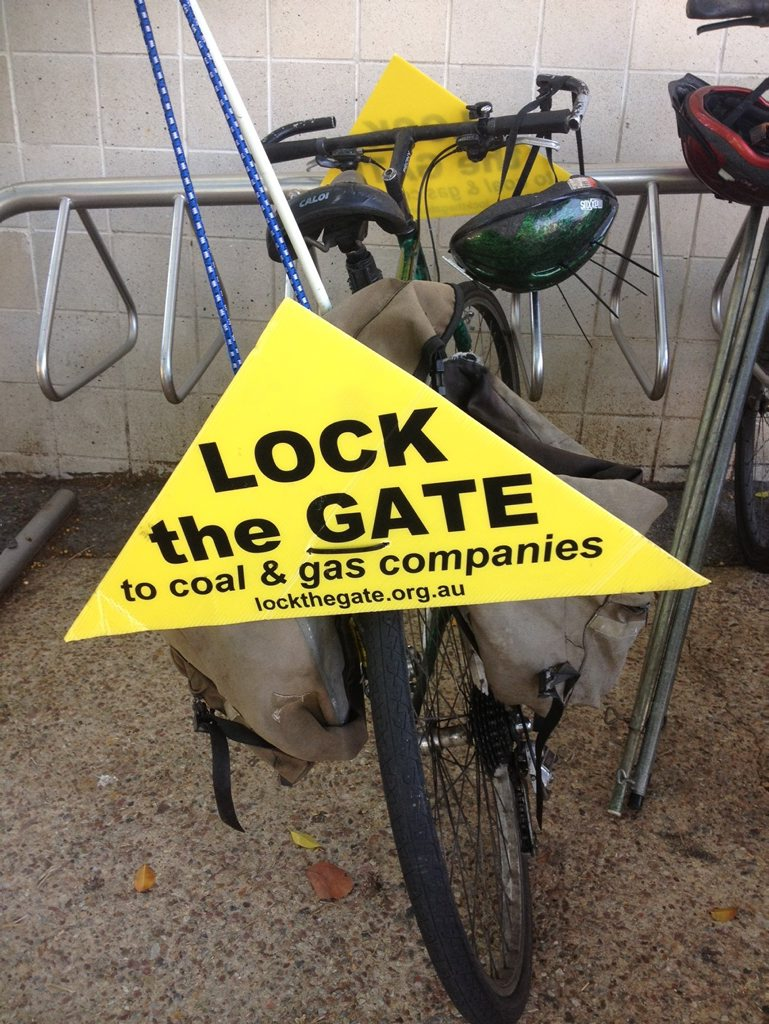 Lock The Gate poster.