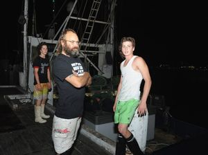 Trawler rescues dinghy drifting in darkness