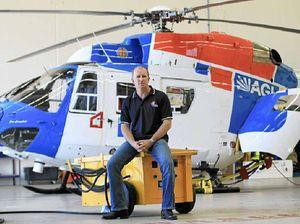 Rescue chopper's SOS