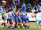 A fight broke out during the U18 grand final rugby league match at North Ipswich Reserve.