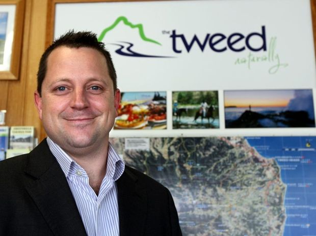 Bill Tatchell at the Murwillumbah visitor information cente. New CEO of Destination Tweed.