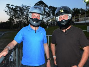 All go as top end of town hit the track