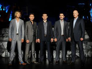 Celtic Thunder rolling in to Convention Centre
